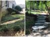 Foundation Planting & Walkway Installation